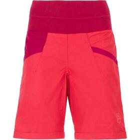 La Sportiva Ramp Pantalones cortos Mujer, garnet/beet